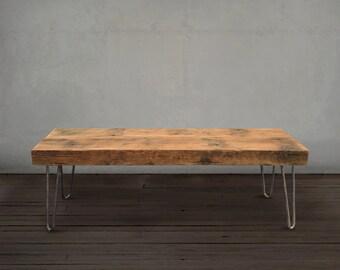 Coffee Table, Reclaimed Wood