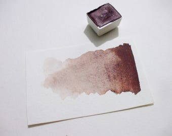 Violet Hematite - Handmade Watercolor Paint