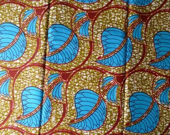 6 YARDS Mitex Holland Block Wax Print Fabrics For Dresses& Craft Making /African Ankara Print Craft Fabric NEW