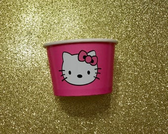 Hkuiumdj***50- Hello Kitty Candy Party Favor Container Paper Bowls Snack Cup