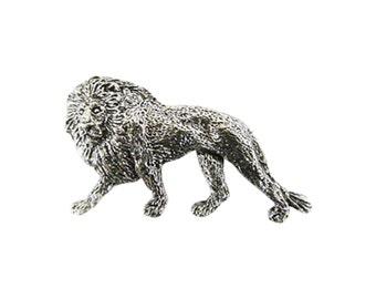 Premium Lion Full Body  ~ Lapel Pin/Brooch ~ M102FPR,MC102FPR,MP102FPR