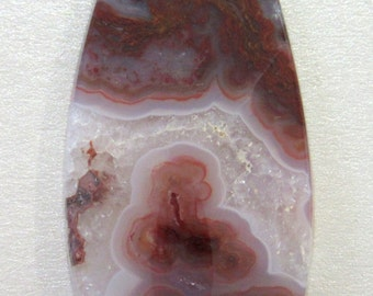 Red Flame Agate Cabochon