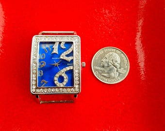 Blue Diamond Narmi Watch, Blue Narmi Watch, Big Narmi Watch Face Piece