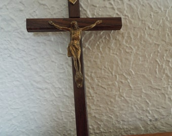Vintage Wall Cross Crucifix