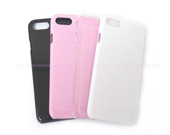 Blank iPhone 7 Phone Case for DIY project color in White, Black, Transparent, Pink