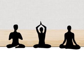 Mix meditation die cuts, set of 10