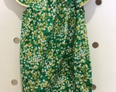 Australia day Green gold confetti Seaside playsuit size 000-2 ready to post. baby girl outfit bubble romper baby sunsuit beach outfit