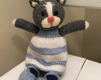 Knit Kitty Cat