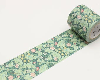 William Morris Leicester Japanese Washi Tape  (MTWILL09) Price depends on order volume. Buy other items together for BETTER price.