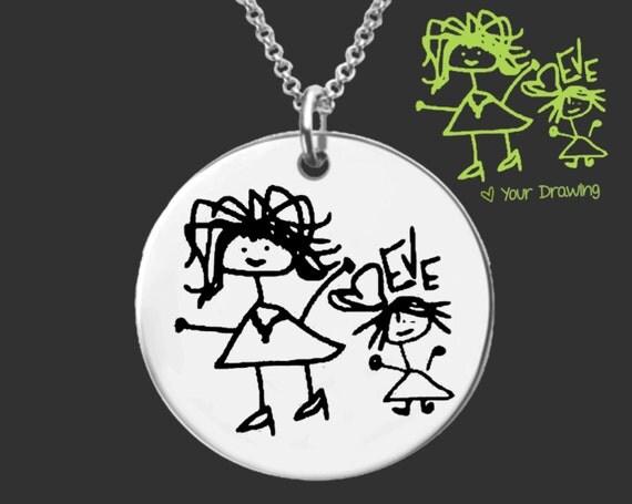 Grandma Gift | Grandmother Gift | Mother Gift | Mom Gift | Mothers Day | Nana Gift | Handwriting Jewelry | Korena Loves