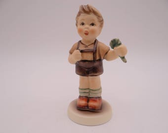 "Vintage Goebel Hummel ""A Four Leaf Clover"" Figurine - #2068/B with Original Box and COA."