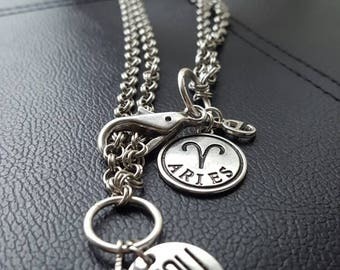 Charmed Chain Necklace/ Charms