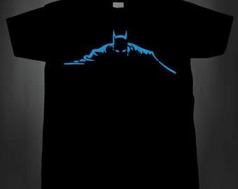 Dark Nights  T Shirt Mens Ladies Superhero Comic Bat
