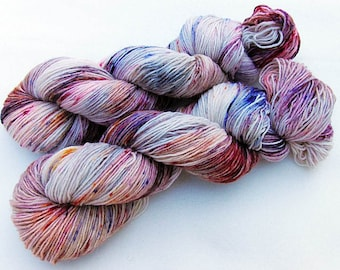 Handdyed SockYarn, 75 Wool, 25 Nylon 100g 3.5 oz. Nr. 745