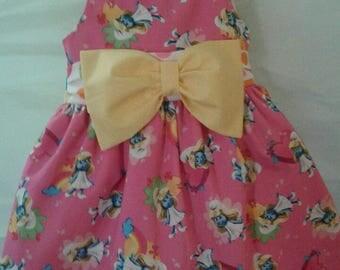 Smurfs  Birthday Dressy Classy Dress