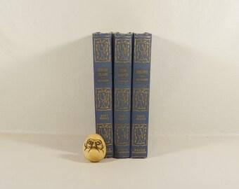 Antique Adventure Novels - Tom Sawyer - Kidnapped - Treasure Island