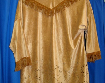 Native American Indian Costume Girls Child Size 5