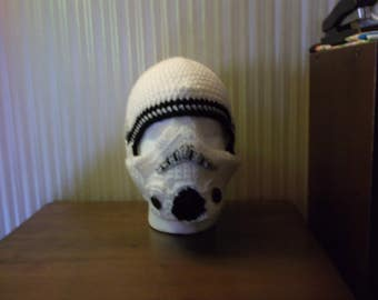 Star Wars inspired STormtrooper crochet Balaclava