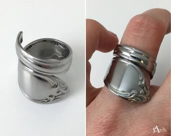 Handcrafted Upcycled Spoon Rings - Approx. Sizes 6, 6.5, and 7