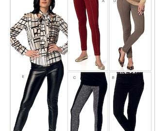 Vogue V9210 Misses'' Seamed Skinny Pants Sewing Pattern