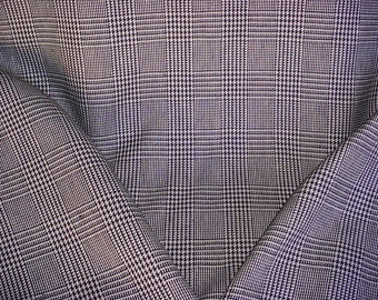 Houndstooth Linen Etsy