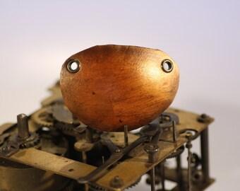 steampunk leather eye patch , plain