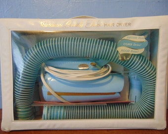Ronson Beauty Trio Hair Dryer From the 50's