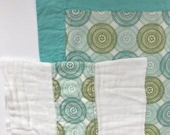 Receiving Blanket Burp Cloth