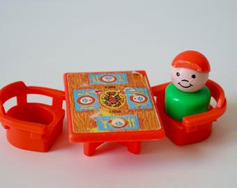 Vintage Fisher Price Houseboat Table