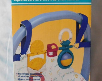 vintage BABY ACTIVITY CENTER play bar Gerry new in box