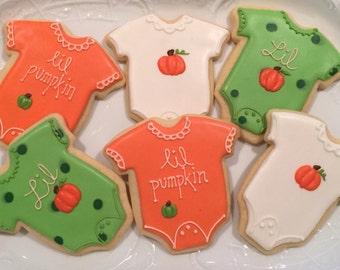 Baby Shower Onesie Cookies