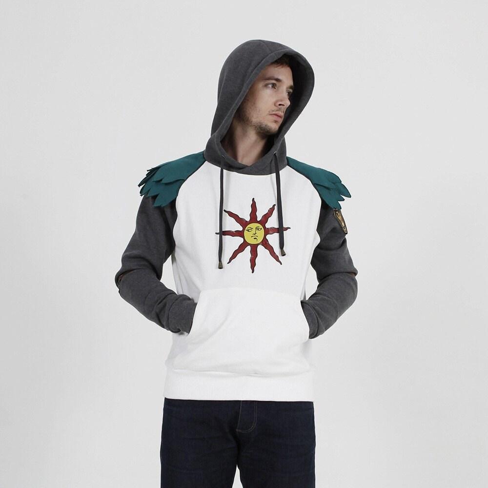 dark souls hoodie praise the sun solaire hoodie by iamknight
