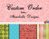 Custom order for Helen Please Do not purchase unles you are Helen. Thank you!