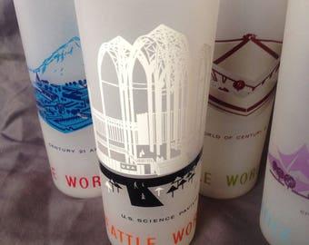 1962 Seattle World's Fair Glasses