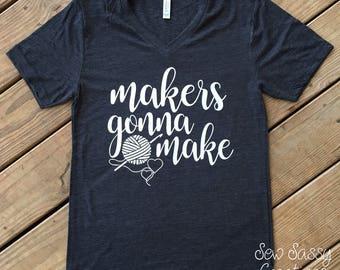 Makers gonna make (crochet)