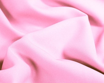 Pink Soild  60'' Poly Gabardine Fabric by the Yard - Style 3054