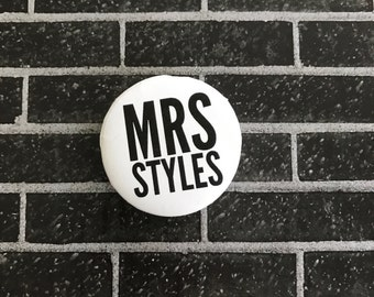 Mrs  | Button/Pinback/Badge