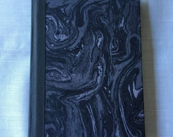 Black Marbleized Watercolor Sketchbook