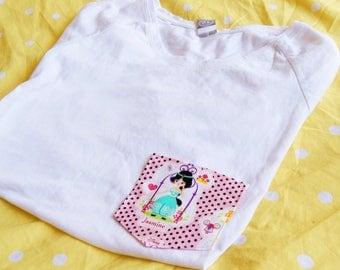 Pretty Princess Tee Pocket