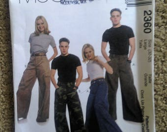 McCalls Very Wide Leg Pants Pattern Large and Tall