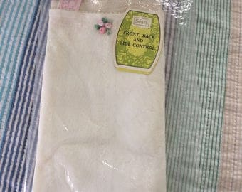 Sears Long Leg Panty Girdle with Garters with Original Tags