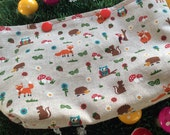 Woodland petite project bag