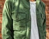 Vintage OG-107 militaires émis d'Olive Green chemise voir Options de taille