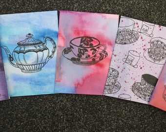 Tea Party Quirky Cards