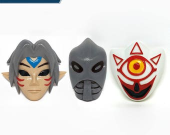 Legend of Zelda Majoras Sacred Power Mask Set