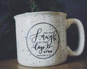 Proverbs Coffee Mug