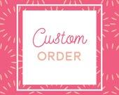 Custom 20x30 Beach Canvas Guestbook Print for Joanie H