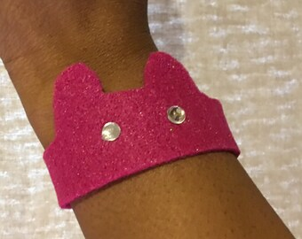 Womens Rights bracelet-Pink