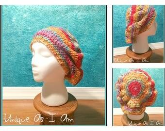 Crochet Gems Slouchy Beret Hat - Adult