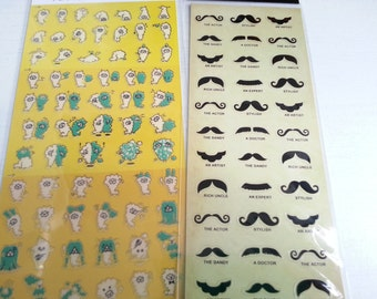 Sales : Sticker - 2 sheets
